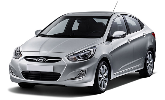 Hyundai Accent car hire