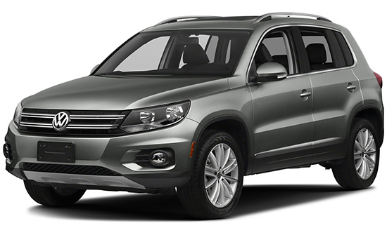 VW Tiguan car hire
