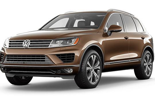 VW TOUAREG wynajem samochodów