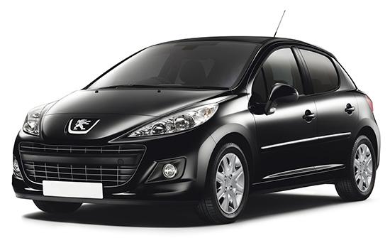 Peugeot 207 аренда автомобиля