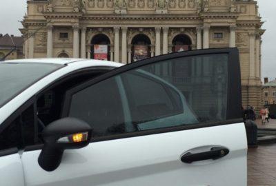 Зручний Ford Fiesta для вузеньких вуличок Львова