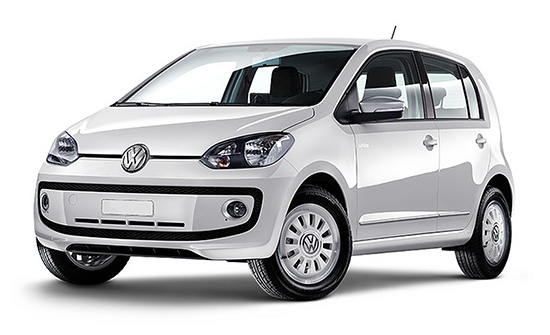 VW UP car hire