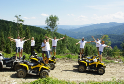 Ukr-prokat team had a trip to the slopes of the Ukrainian mountains