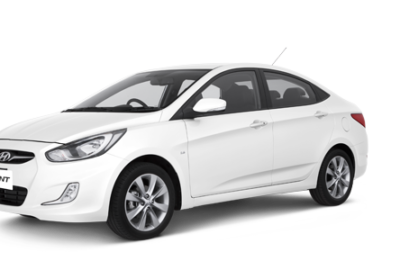 Meet new Hyundai Accent in our fleet!