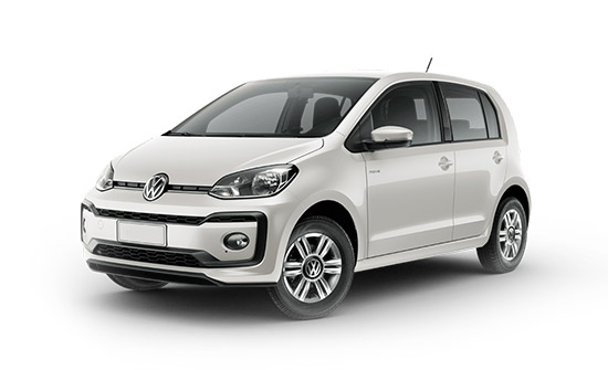 VW UP car hire