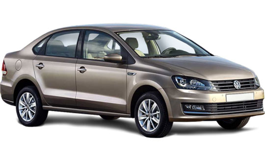 VW Polo Sedan car hire
