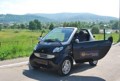 Літня відпустка на кабріолеті Smart Fortwo Cabrio!