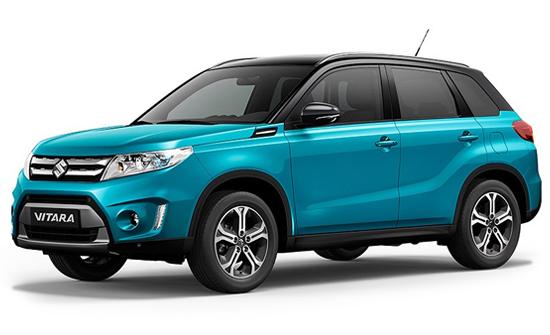 Suzuki Vitara wynajem samochodów