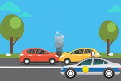 Что необходимо делать при ДТП на арендованном авто?