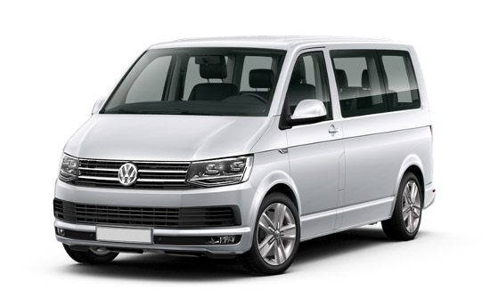 VW Transporter T6 car hire