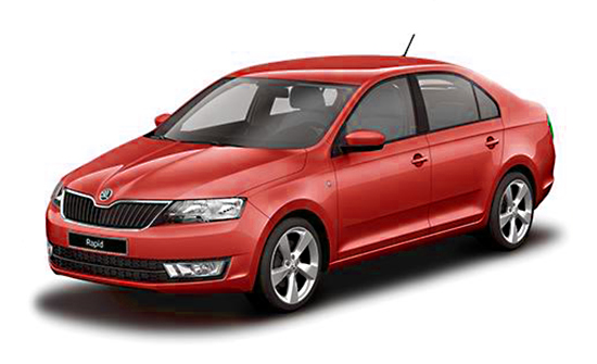 Skoda Rapid car hire