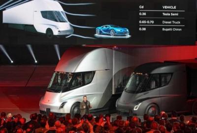 Tesla Semi. Грузовик будущего