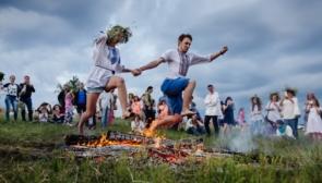 Праздник Ивана Купала во Львове