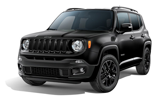 Jeep Renegade 4×4 аренда автомобиля