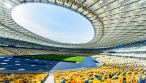 Top best stadiums of Ukraine