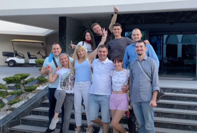 Компанія Укр-Прокат відсвяткувала корпоратив!