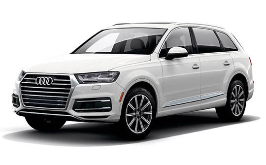 Audi Q7 wynajem samochodów