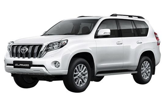 Land Cruiser Prado wynajem samochodów