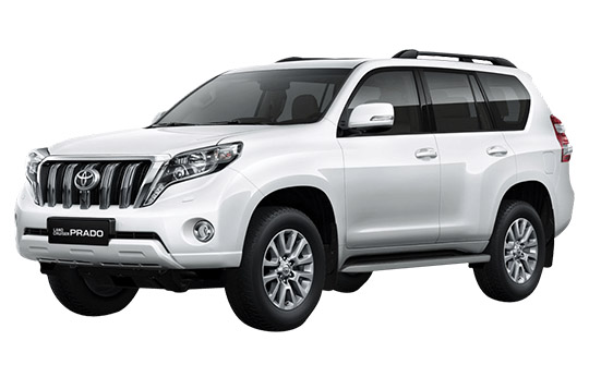 Land Cruiser Prado аренда автомобиля