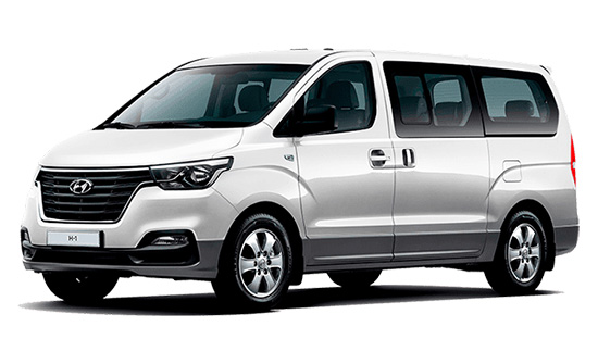 Hyundai H-1 car hire