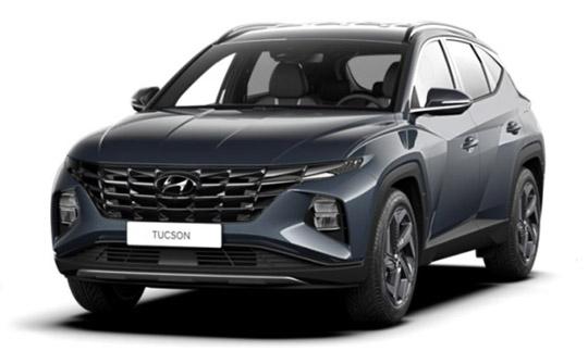 Hyundai Tucson 2021 wynajem samochodów